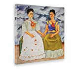 GIALLO BUS - BILD - DRUCK AUF LEINWAND - FRIDA KAHLO - THE TWO FRIDAS - 50 x 50 cm