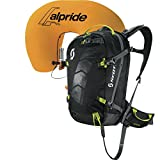 Scott Erwachsene Skirucksack Pack Air Free AP Kit, Black/Grey N, 52 x 30 x 20 cm, 30 Liter, 2396491001815