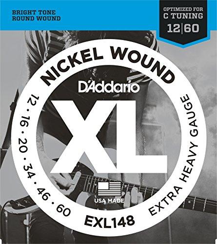 D'Addario EXL148 - 012' - 060'