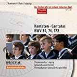 Bach: Cantatas For Pentecost (Bwv 172/ 74/ 34) (Rondeau Production: ROP4026)