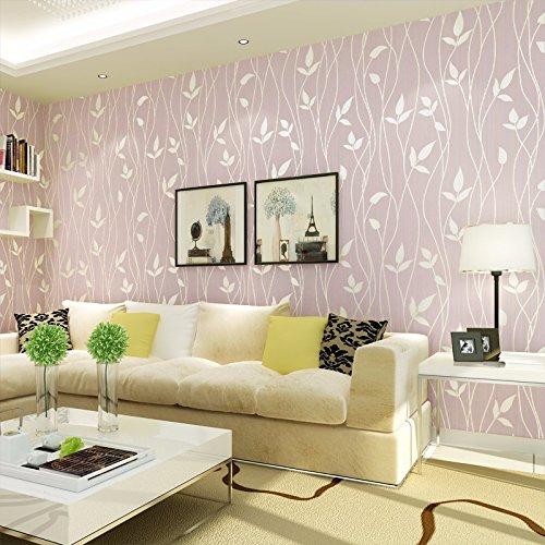 bizhi-contemporary-wallpaper-art-deco-covering-non-woven-paper-wall-artpurple-pink