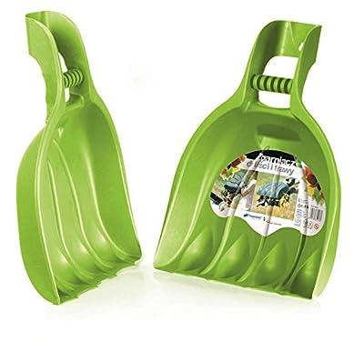 """KREHER XXL Laubgreifer, Laubpicker """"BEAR PAW"""" - zwei XL Schaufelhände aus robustem Kunststoff zur Erleichterung der Gartenarbeit! Maße BxTxH in cm: 39 x 7 x 52 cm !"""