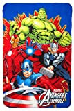 Avengers Kinder Fleecedecke Polar Fleece Decke, 140 x 100 cm, Art. 0124