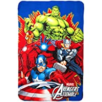 DSL Group Nottingham Kinderdecke mit Cartoon-Motiv Avengers Ltd Fleecedecke f/ür Kinder
