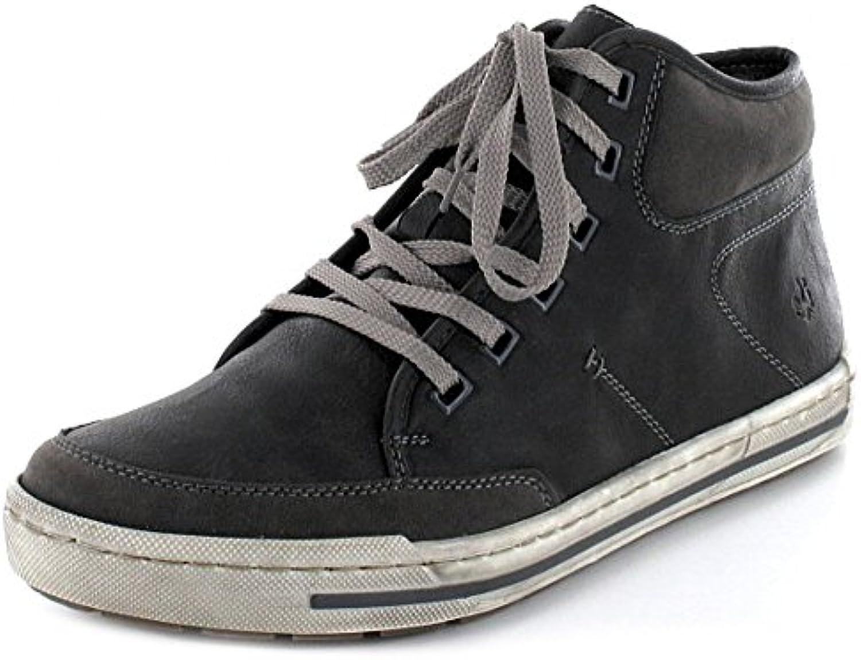 Rieker Herren Sneaker Schnürstiefelette Kaltfutter sportlicher Boden 38012 45 Braun 132497