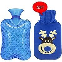 Zhangcaiyun Gummi-Thermoskanne Große Größe 2000ML Klassische PVC-heiße kalte Wasser-Flaschen-Tasche mit Abdeckung... preisvergleich bei billige-tabletten.eu