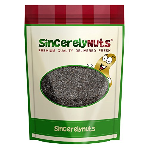 Sincerely Nuts Whole Blue Poppy Seeds .90kg (31.5oz) Bag Test