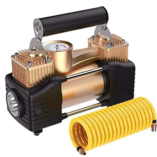 Cabzswh Bomba Inflable portátil neumático Coche