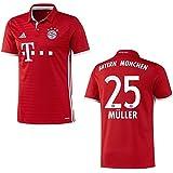 Bayern Munich Home Jersey Men 2016/2017-Müller 25