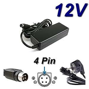 Adaptateur Secteur Alimentation Chargeur 12V pour LAD6019AB4 LAD6019AB5 Linearity TV