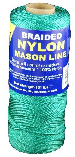 T.w. Evans Cordage 12–502 variété tressé en nylon Mason Ligne, 500-feet, Vert