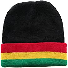 Gorro para Mujer Hombre Rasta Jamaica Reggae África Bandera