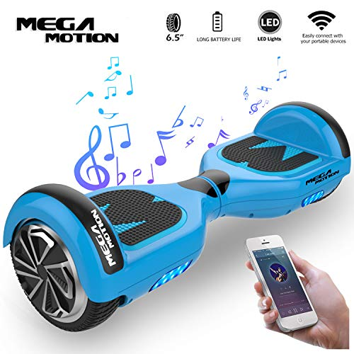 "Mega Motion Hoverboard Elektro Scooter E1-6,5\"" Segway - Bluetooth - EU Sicherheitstandard"