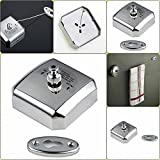 #6: Supermall Stainless Steel Retractable Cloths line Best quality (10 Miter Fiber Line)