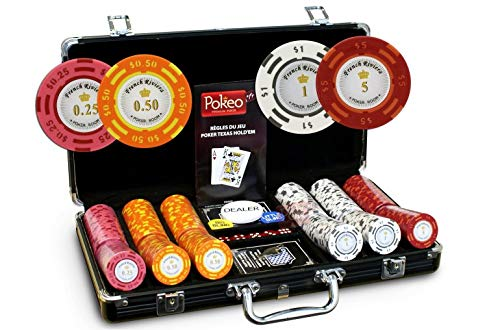 Maletín French Riviera 300fichas Cash game