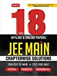 18 Years JEE Main Chapterwise Solutions - Phy,Chem,Maths