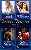 Modern Romance Collection: July 2017 Books 1 - 4: The Pregnant Kavakos Bride / The Billionaire's Secret Princess / Sicilian's Baby of Shame / The Secret ... the Greek (Mills & Boon e-Book Collections)