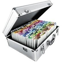 Copic CZ21075450 - Juego de 358 rotuladores (maletín metálico), tinta multicolor