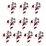 Mitlfuny Gesundheit Und SchöNheitDIY Dekoration 2019,10PCS Bunte Weihnachten Metall Shell Dazzling Nail Sticker Nail Art Dekoration