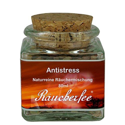 80ml Räuchermischung 'Antistress' zum Räuchern - Räuchwerwerk - im Korkenglas (100% Reiner Granatapfel)