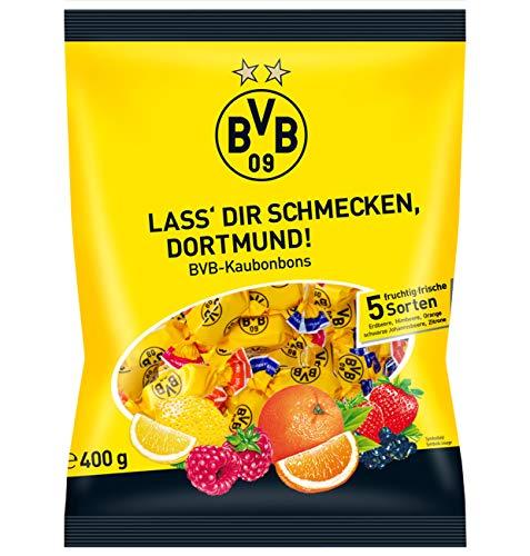 Preisvergleich Produktbild Woogie Borussia Dortmund BVB Kaubonbons,  1er Pack (1 x 400g)