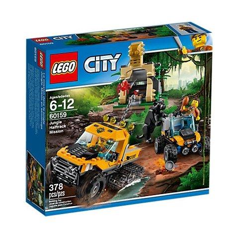 Lego City 60159 - Missione nella giungla con il semicingolato