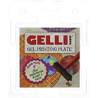 Gelli Arts 4-Inch Round Plate