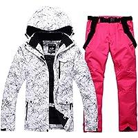 KARTELEI Herren & Damen Schneeanzug Winter Ski Jacke und Hose Set