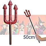Unbekannt Teufelin Kostüm Set - Red Devil Costume Set - vertrieb durch ABAV (Dreizack)