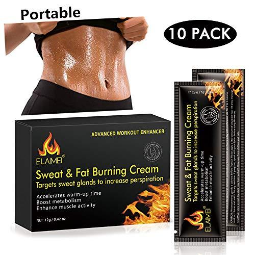 51ay337yQ7L - Crema caliente, Abs Extreme 4D Liposuction Body Slim Cream, Anti celulitis Abdomen Cuerpo orgánico natural Tratamiento adelgazante para moldear la cintura, Abdomen y glúteos (10 unidades/caja)