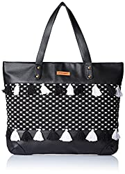 Kanvas Katha Womens Handbag (Black) (KKHZTJ006)