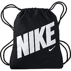 Nike GFX Saco de Gimnasia, Color Negro/Blanco