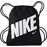 Nike Unisex Jugend Y Nk Gmsk-GFX Turnbeutel, Schwarz (Black/White), 45,5 x 35,5 cm (H x B)