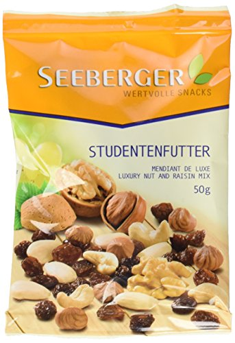 Seeberger Studentenfutter, 12er Pack (12 x 50 g Beutel)