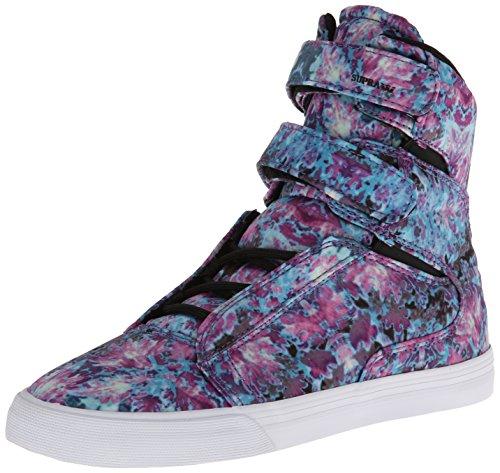 Supra Sneaker Mulheres Sociedade Ii Floral Damen Sneakers Branco Preto 1qnSAx