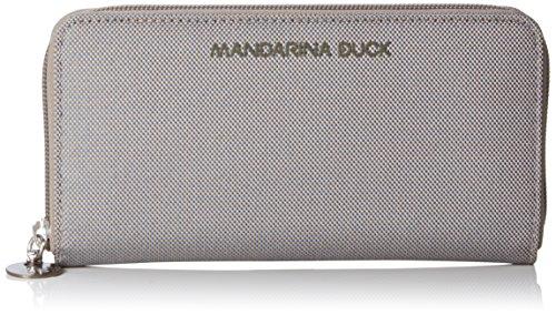 Mandarina Duck 16216PN1495, Portafoglio Donna, Grigio (Grey 007), 21x2x11 cm (B x H x T)