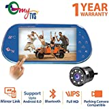 myTVS TRV-67T 7 inches Car Rear View Full HD Touch Screen with Mirror Link & 8 LED Night Vision Camera
