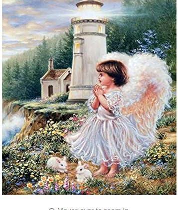 Phare Angel DIY Peinture par Numéros Mur Mur Mur Art Figure Peinture Décor À La Maison pour Salon Unique Cadeau Oeuvre 40x50cm B07HL73N55 db5a1a