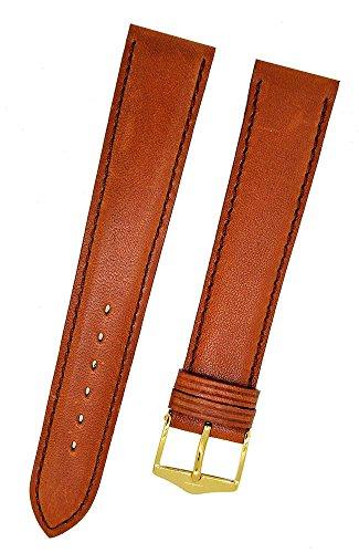 Orig. FORTIS Uhrenarmband LEDER glatt braun Dornschließe 18mm NEU 9131