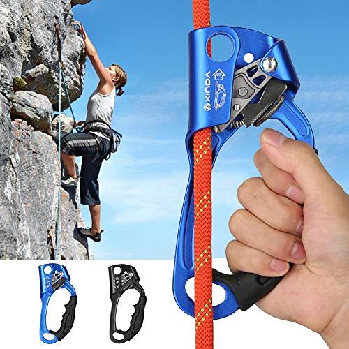 Goodtimera Climbing Ascender, Climbing Device Rechtes Kletterseil Klammerseil Kletterausrüstung Für 8-13mm -