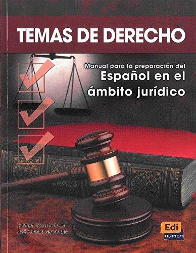Temas De Derecho: Student Book