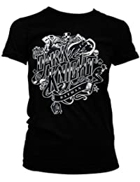 Officiellement Marchandises Sous Licence Inked Dark Knight Femme Tee