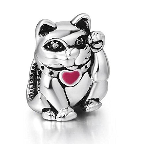 lucky-cat-rosa-esmalte-plata-de-ley-925-encanto-para-pandora-chamilia-biagi-troll-pulseras-estilo-eu