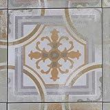 Marokkanische Fliese orientalische Wandfliese Bodenfliese in Zementoptik Mosaikfliese AYAS 20 x 20 cm