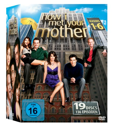 Staffel 1-6 Komplettbox (19 DVDs)