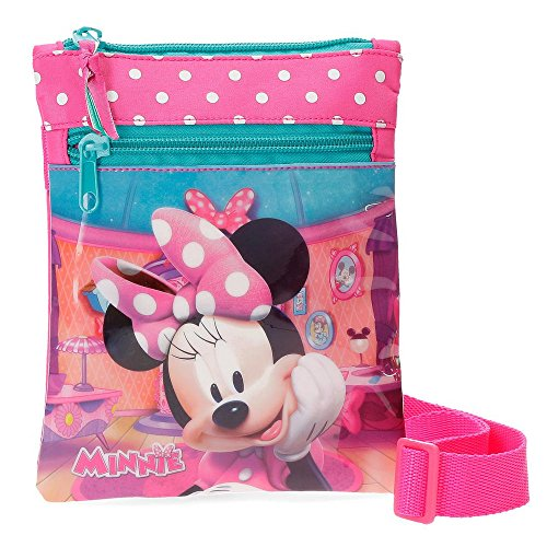 Minnie Smile Pink Shoulder Bag