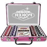 Tactic 03113 Propoker: Ladies Poker Night - Maletín de póquer