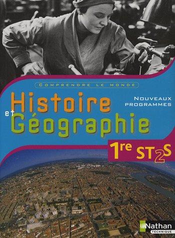 Histoire et Gographie 1e ST2S