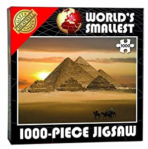 World's Smallest Jigsaw Pyramids of Giza