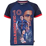 Trikot PSG–Zlatan Ibrahimovic–Offizielle Kollektion PARIS SAINT GERMAIN–Kindergröße Jungen für 4-Jährige Blau - blau